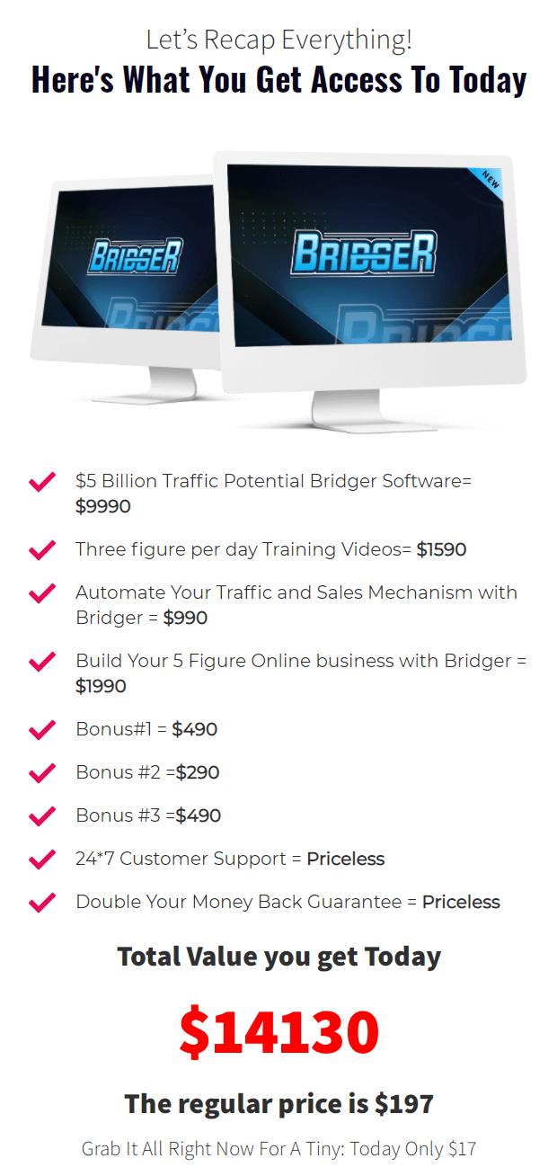 Bridger-Software-price