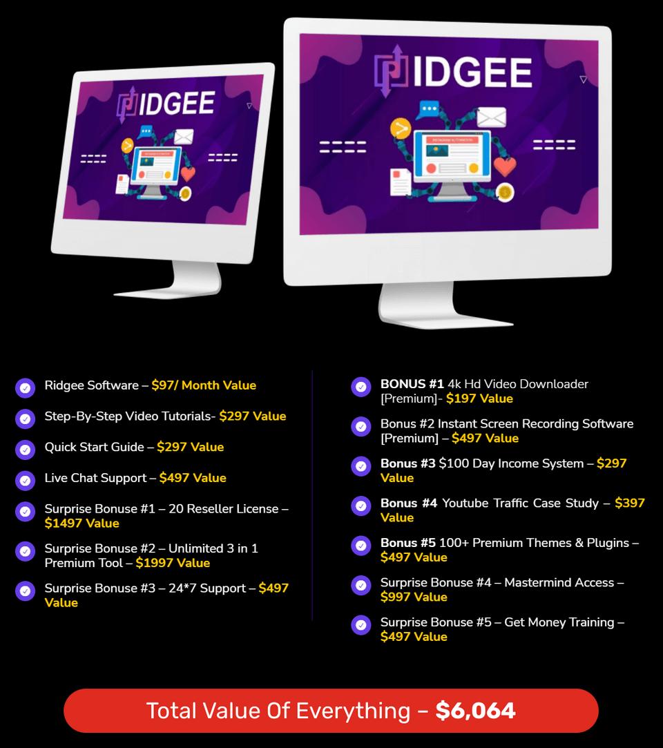 Ridgee-price