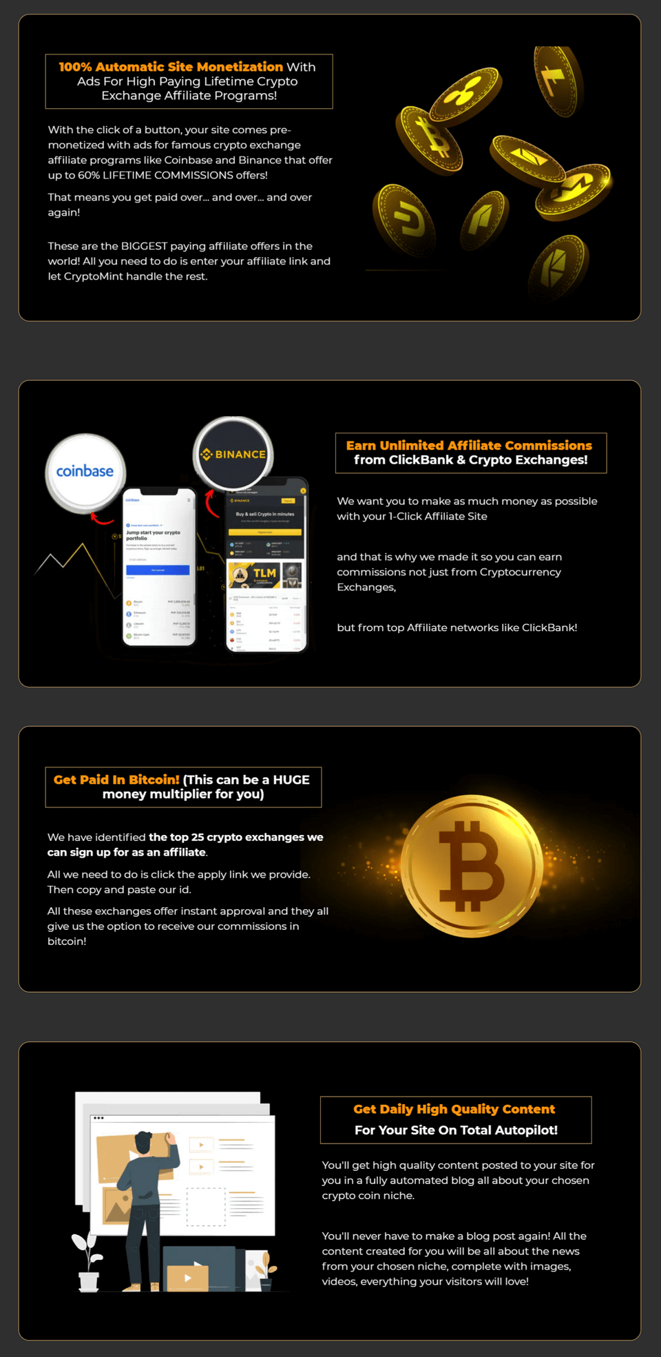 CryptoMint-Features