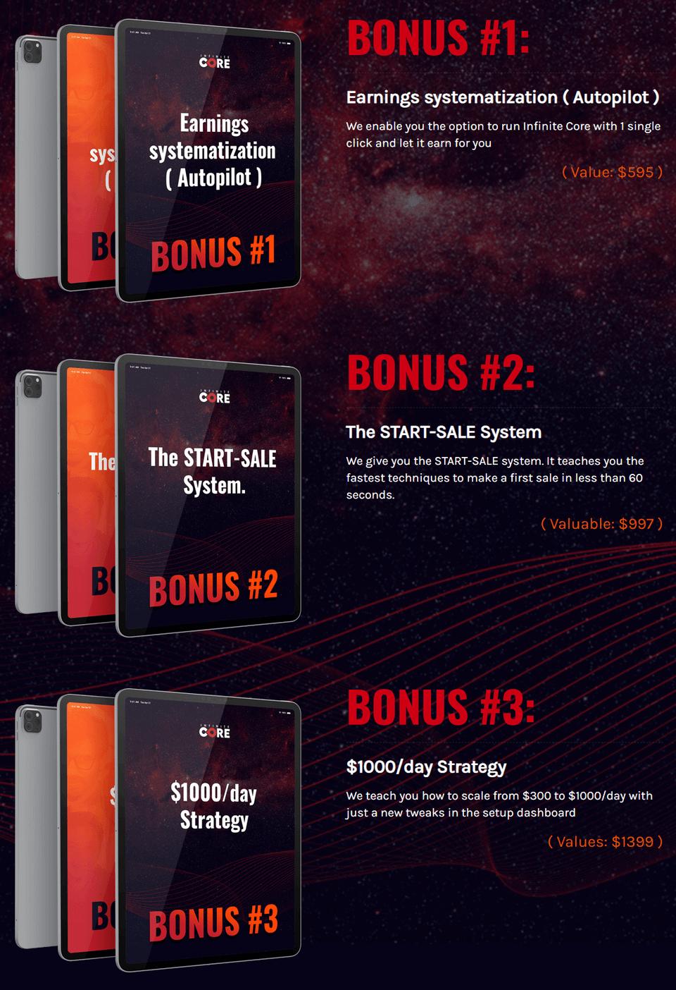 Infinite-Core-bonus