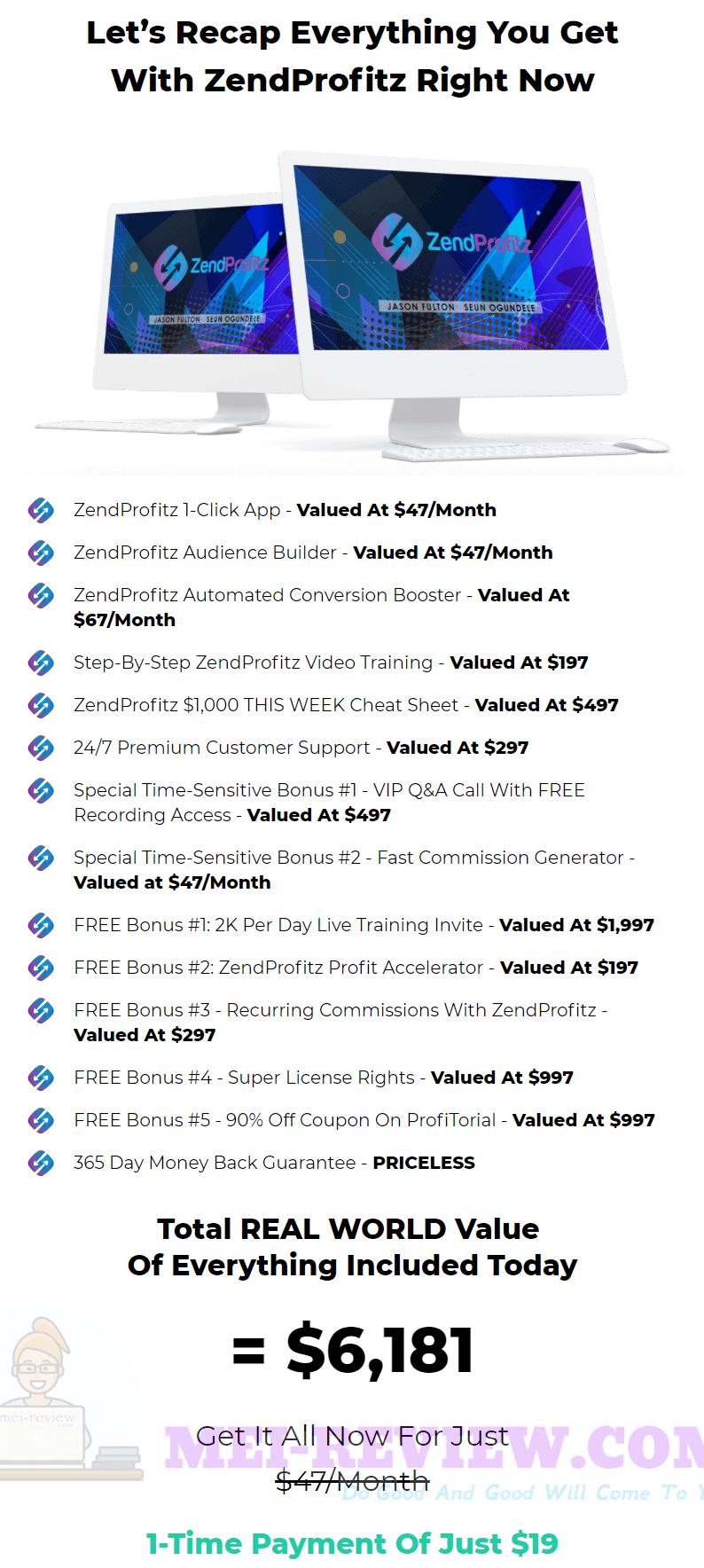 ZendProfitz-price