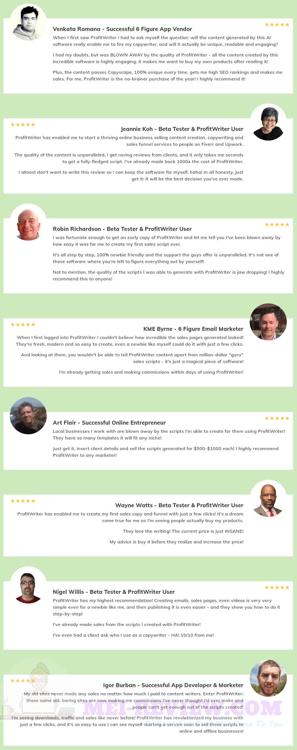 ProfitWriter-feedback