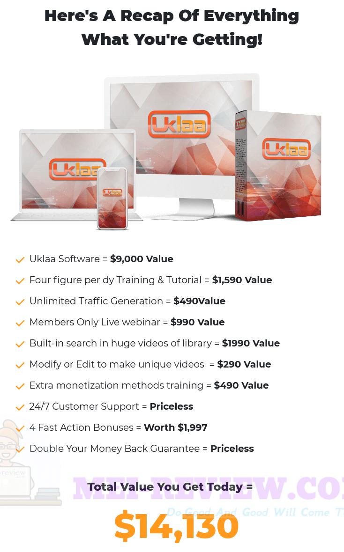 Uklaa-price