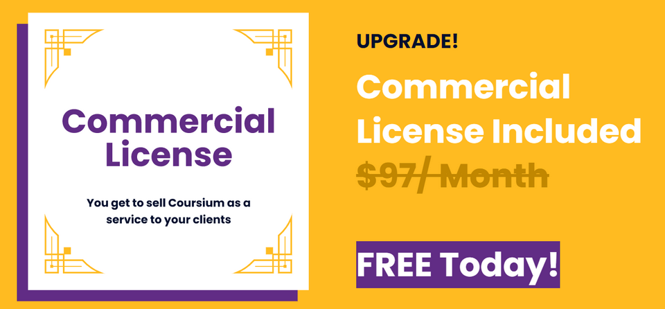 Coursium-with-commercial-license