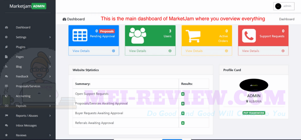 MarketJam-demo-1-dashboard