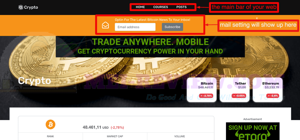 CryptoMember-Demo-16-launch-website
