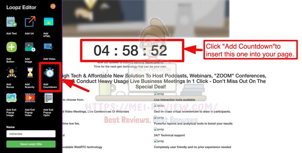 Loopz-demo-7-Add-Countdown