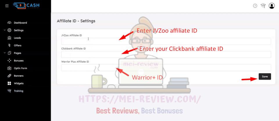 Cash-Cloner-Demo-5-ID-settings