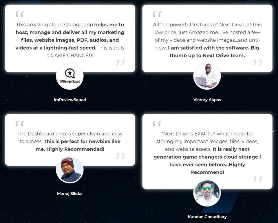 NextDrive-feedback