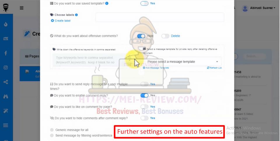 FunnelsBot-demo-9-Comment-Message-Bot-Tools