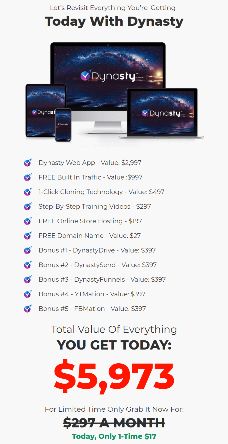 Dynasty-Software-price