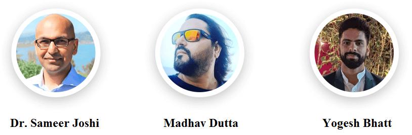 Yogesh-Bhatt-Dr.-Sameer-Joshi-Madhav-Dutta