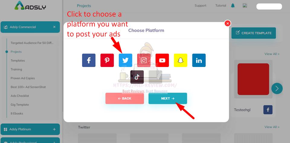 Adsly-demo-4-social-media-platform