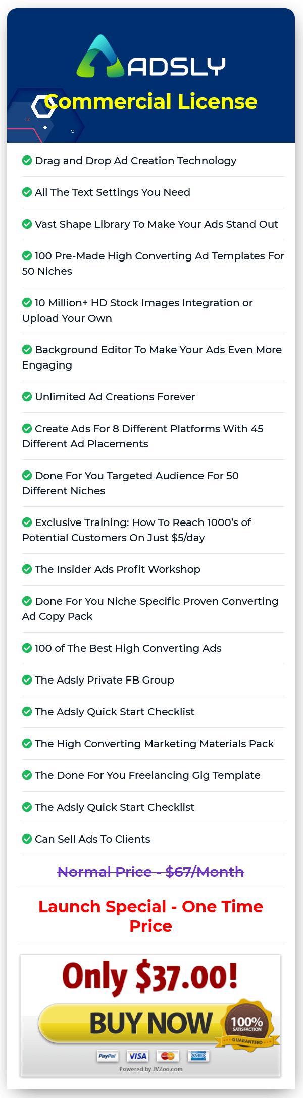 Adsly-price