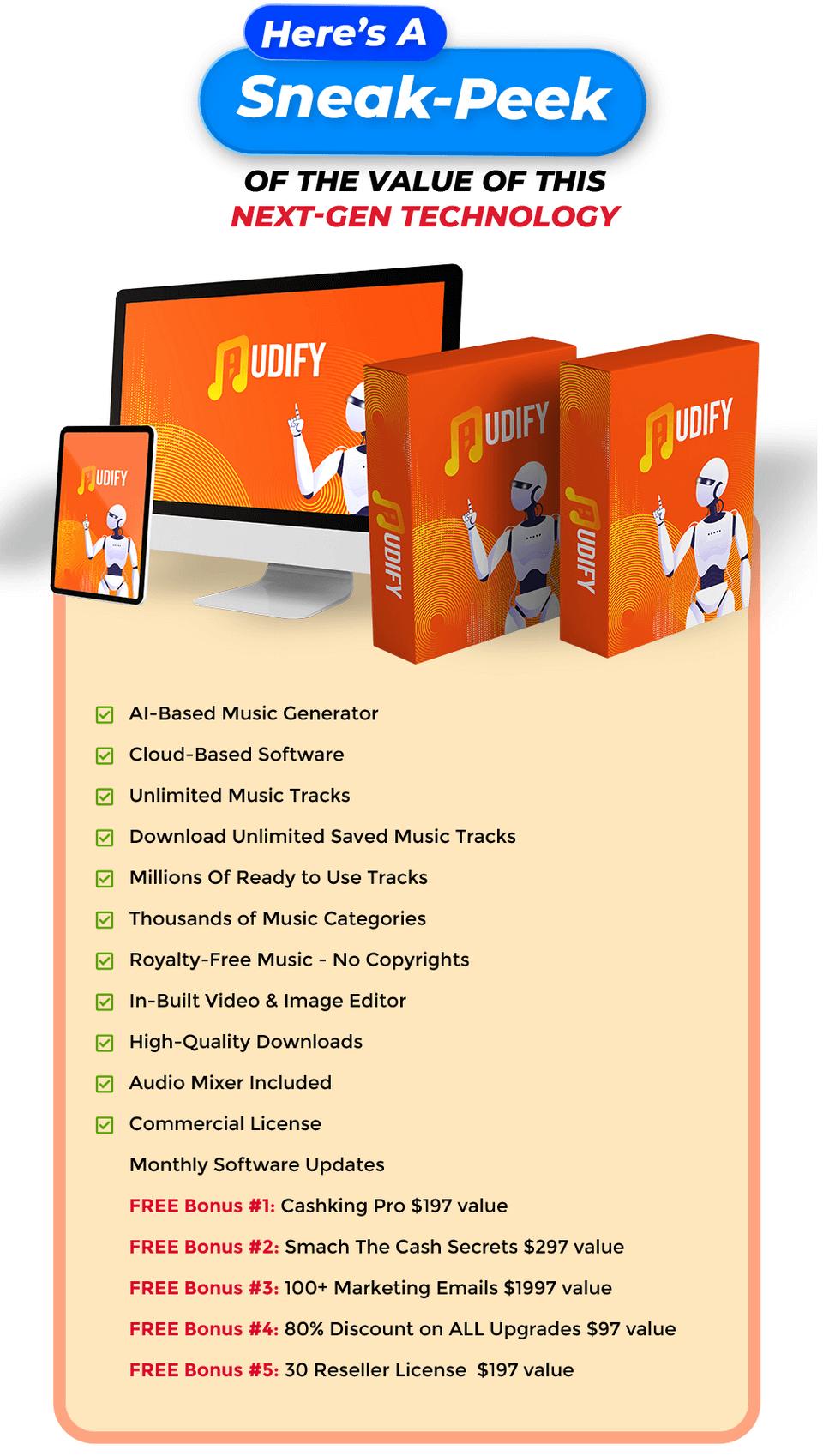 Audify-price