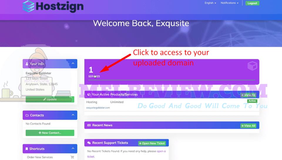 HostZign-demo-6-Services