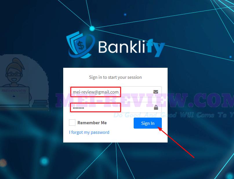 Banklify-demo-1-login