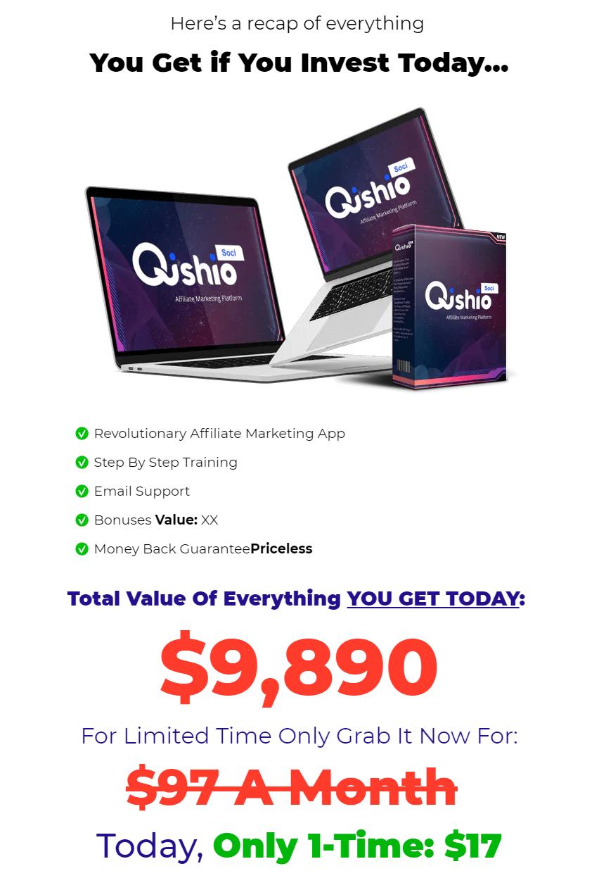 QishioSoci-price